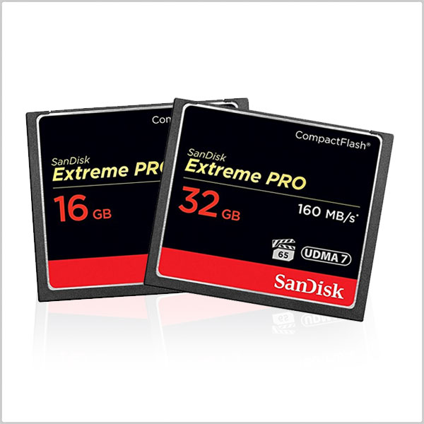 how to use a sandisk compact flash extreme card